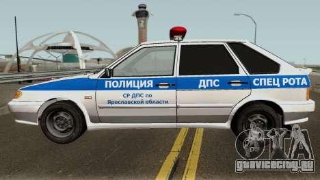 ВАЗ 2114 Полиция Ярославской Области для GTA San Andreas