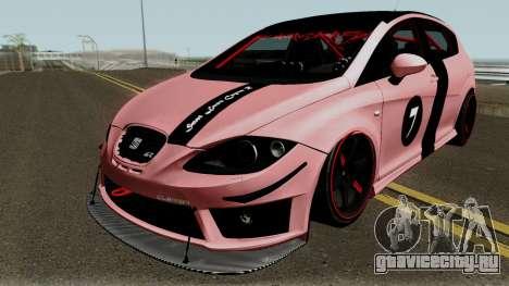 Seat Leon Cupra R для GTA San Andreas вид сбоку