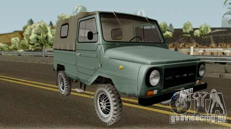 ЛуАЗ-969М v3 для GTA San Andreas вид изнутри