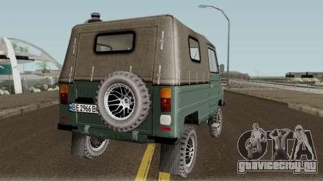 ЛуАЗ-969М v3 для GTA San Andreas вид справа