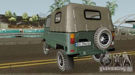 ЛуАЗ-969М v3 для GTA San Andreas вид сзади слева