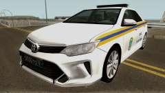 Toyota Camry МЧС для GTA San Andreas