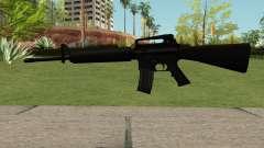 New M4 Black для GTA San Andreas