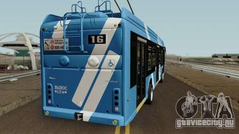 Тролза 5265.08 Мегаполис Санкт-Петербург для GTA San Andreas вид справа
