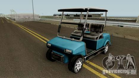 Caddy from Vice City для GTA San Andreas