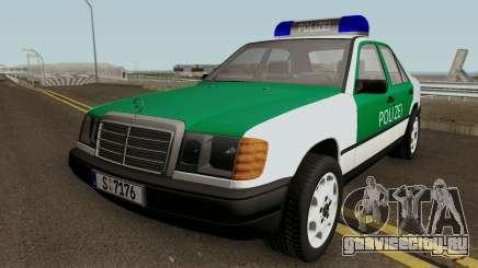 Mercedes-Benz E-Klasse W124 1993 Police для GTA San Andreas
