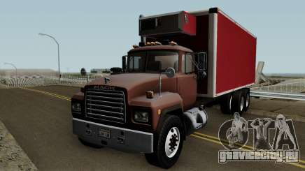 Mack RD690 Box Truck для GTA San Andreas