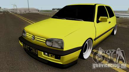 Volkswagen Golf 3 Stanced v2 для GTA San Andreas