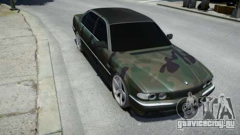 BMW 760Li E38 для GTA 4