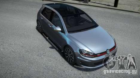 Volkswagen Golf VII GTI для GTA 4