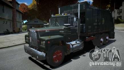 Mack R-600 Trashmaster для GTA 4