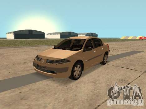 Renault Megane II Sedan 2004 v2.1 для GTA San Andreas