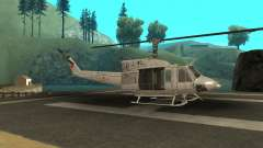 Agusta Bell 212 Turkısh Naval Forces для GTA San Andreas