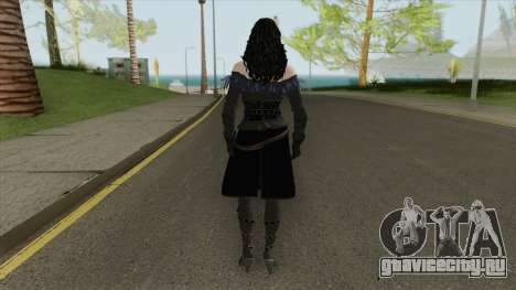 Yennefer (The Witcher 3) для GTA San Andreas