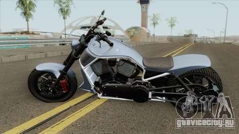Western Motorcycle Nightblade (V2) GTA V для GTA San Andreas