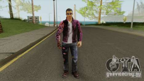 Johnny Gat (Saints Row: Gat Out Of Hell) для GTA San Andreas