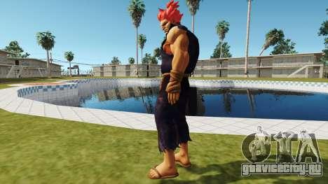 Gouki Акума Теккен 7 для GTA San Andreas