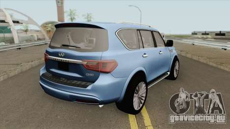 Infiniti QX80 2018 для GTA San Andreas