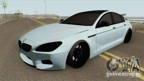 BMW M6 Gran Coupe (Modified) для GTA San Andreas
