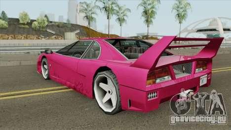 Turismo (Update) для GTA San Andreas