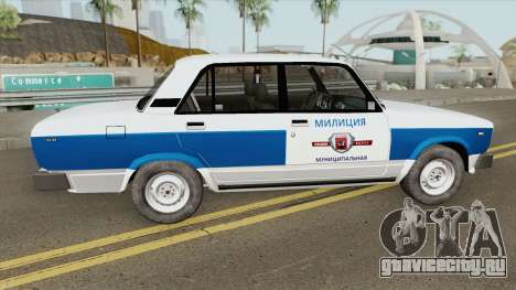 ВАЗ 2105 (Муниципальная Милиция) для GTA San Andreas