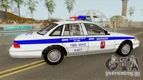 Ford Crown Victoria (Moscow Police) 1997 для GTA San Andreas