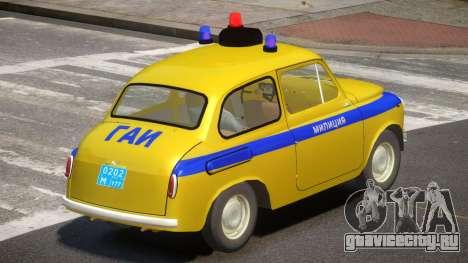ZAZ 965 Police для GTA 4