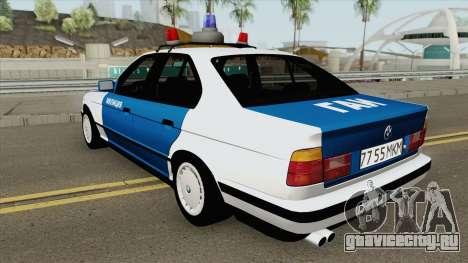 BMW 525i (E34) Police 1991 для GTA San Andreas
