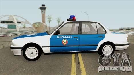 BMW E30 (Police) 1988 для GTA San Andreas