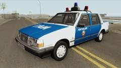 Volvo 460 (Police) 1991 для GTA San Andreas