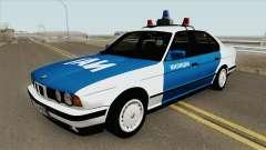 BMW 525i (E34) Police 1991
