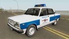 ВАЗ 2107 (Муниципальная Милиция) для GTA San Andreas