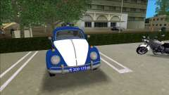Volkswagen Beetle SFR Yugoslav Milicija (police) для GTA Vice City