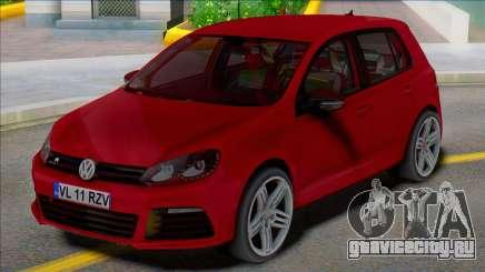 Volkswagen Golf 6 R 4 двери для GTA San Andreas