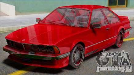 GTA V Ubermacht Zion Classic для GTA San Andreas