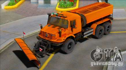 Mercedes-Benz Zetros 2733 Snow Blower для GTA San Andreas