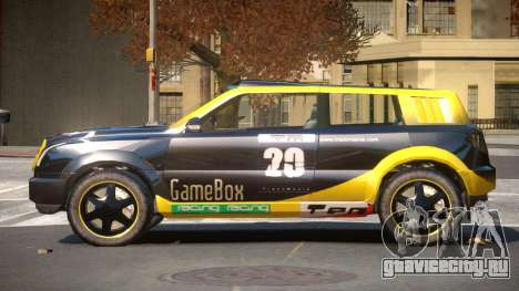 Bay Car from Trackmania United PJ2 для GTA 4