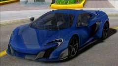 McLaren 675LT Coupe для GTA San Andreas