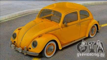 Volkswagen Beetle 1966 Yellow для GTA San Andreas