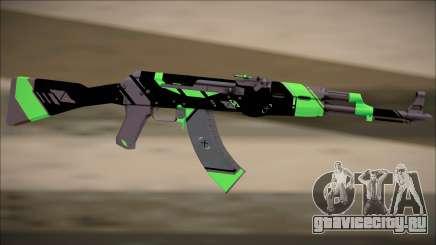 PROJECT ASIIMOV II (lime green) для GTA San Andreas