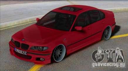 BMW E46 EU Plates для GTA San Andreas