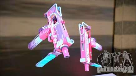 CS GO Mac-10 Neon Rider для GTA San Andreas