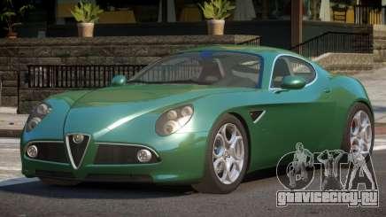 Alfa Romeo 8C Competizione SP для GTA 4