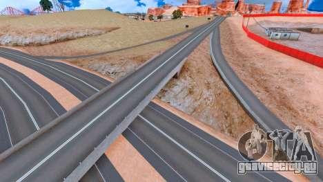 Alpha Roads Mod для GTA San Andreas