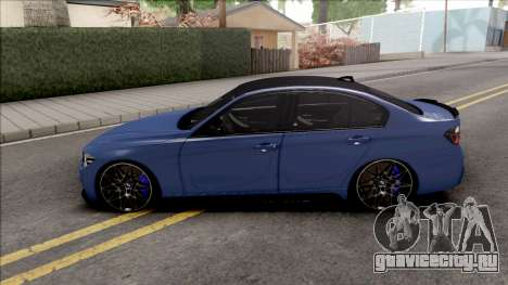 BMW 3-er F30 LCI M-Tech 2017 Light Tuning для GTA San Andreas