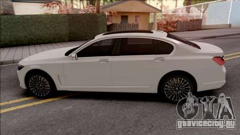 BMW M750Li G12 2019 для GTA San Andreas
