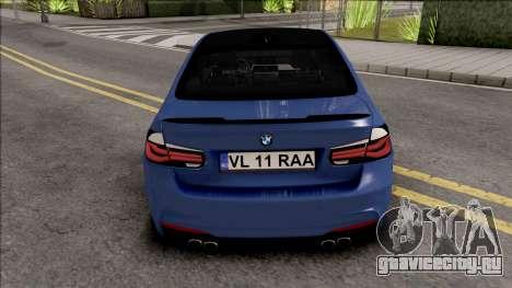 BMW 3-er F30 LCI M-Tech 2017 Light Tuning для GTA San Andreas