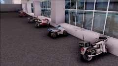 Doherty Parked Bikes для GTA San Andreas