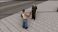 Interact with Peds Final для GTA San Andreas