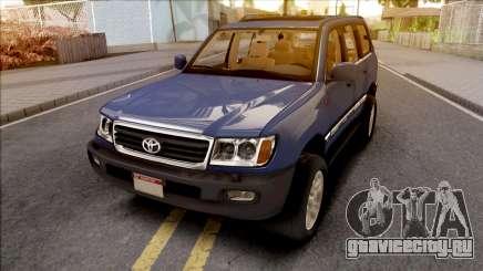 Toyota Land Cruiser Series 100 для GTA San Andreas